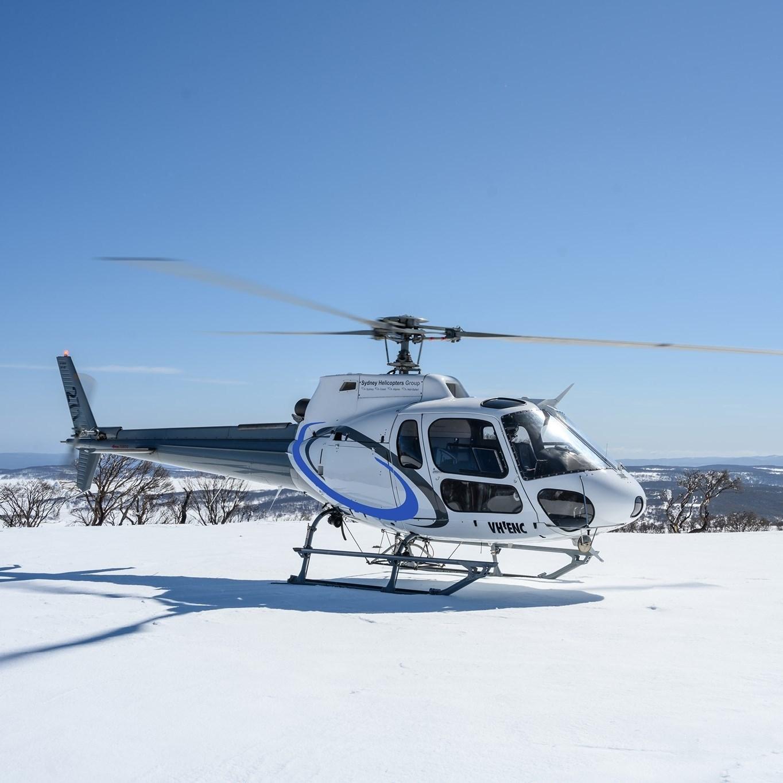 Alpine Helicopters Jindabyne Logo